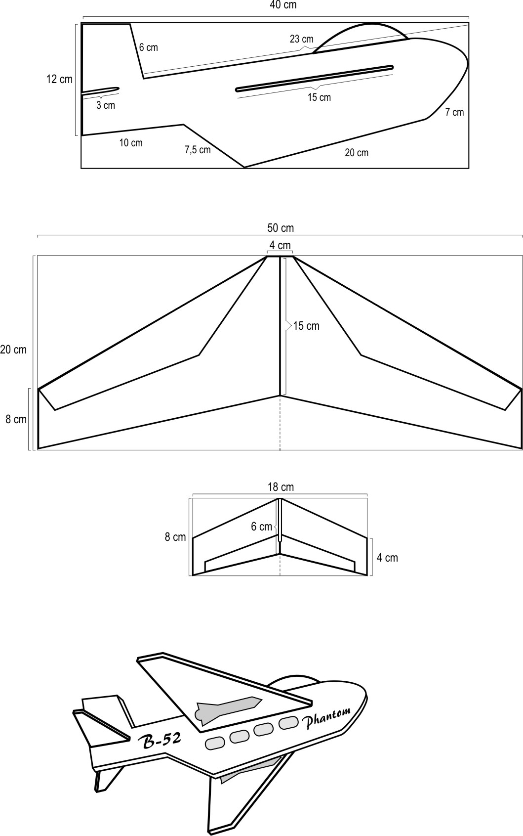 Ukuran Layang Layang : ukuran, layang, Membuat, Layang-layang, Pesawat, Tempur, BLIMBING, MALANG
