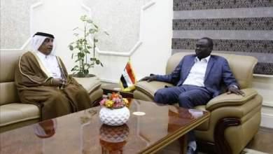 تاور يبحث مع السفير القطري تطوير العلاقات الثنائية بين البلدين