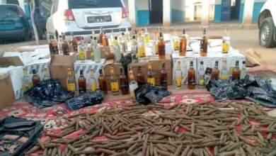 ضبط كمية من الخمور والمخدرات والأموال المنهوبة بجنوب دارفور