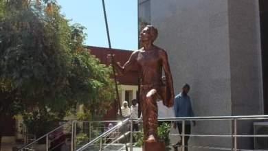 نصب تذكاري بجامعة السودان يجسد ثورة ديسمبر المجيدة