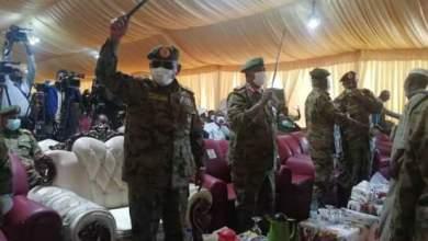 السودان : رئيس هيئة الأركان يصل مدينة الفاو لحضور ختام أعياد المنطقة العسكرية الشرقية