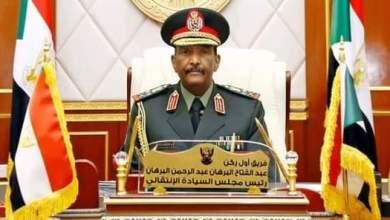 الفريق أول ركن عبدالفتاح البرهان رئيس مجلس السيادة الانتقالي