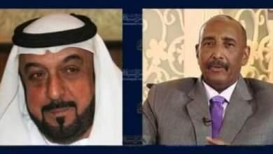 البرهان يهنئ الرئيس الإماراتي بمناسبة اليوم الوطني
