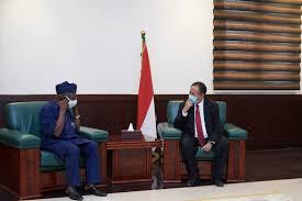 رئيس جمهورية جيبوتي يستقبل د.حمدوك