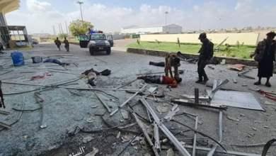 الخارجية اليمنية : 4 صواريخ باليستية حوثية استهدفت مطار عدن