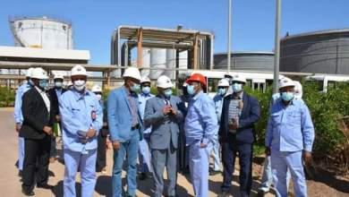 وزير الطاقة والتعدين : توقف المصفاة بغرض الصيانة الروتينية