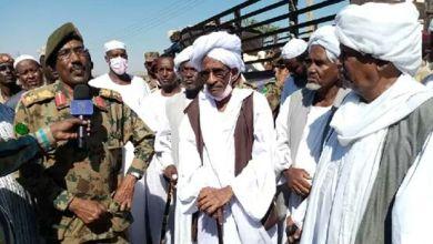الجيش يواصل تقدمه ويستقبل قافلة دعم البني عامر والحباب