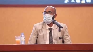 وزير الصحة الاتحادية المكلف د. اسامة احمد عبدالرحيم،