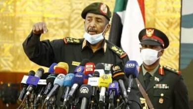 الفريق أول ركن عبد الفاتح البرهان رئيس مجلس السيادة الانتقالي القائد العام للقوات المسلحة