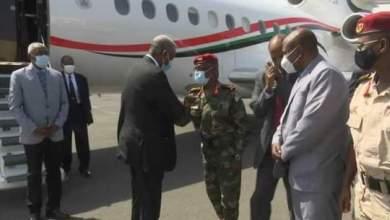 في زيارة رسمية .. الفريق الركن ياسر العطا يصل جمهورية جيبوتي