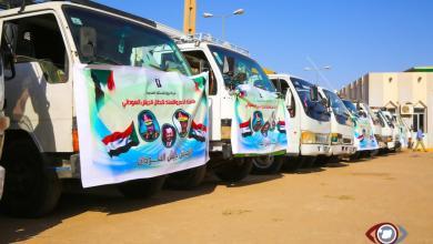 رجل أعمال سوداني مقيم بالإمارات يدشن قافلة كبرى بتكلفة (120) مليار لدعم الجيش السوداني