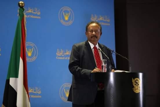دكتور عبدالله حمدوك رئيس الوزراء