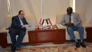 وزير الطاقة والنفط يبحث مع السفير المصري عدداً من المشروعات المشتركة