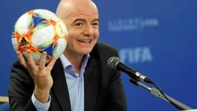 جياني إنفانتينو رئيس الاتحاد الدولي لكرة القدم (فيفا)،