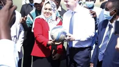 جياني انفانتينو : نجاح دوري كرة القدم للسيدات سيغير صورة السودان