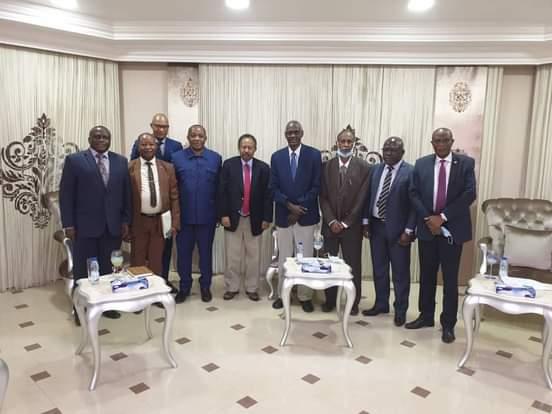 حمدوك يطّلع على مبادرة الاتحاد الأفريقي بشأن ملف سد النهضة