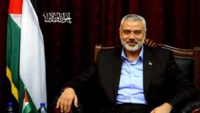 """إسماعيل هنية، رئيس المكتب السياسي لحركة المقاومة الإسلامية """"حماس"""