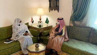 وزيرة الخارجية تلتقي وزير الخارجية السعودي