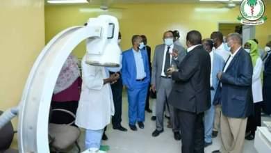 الصحة تدشن قسم المناظير بمستشفي الخرطوم