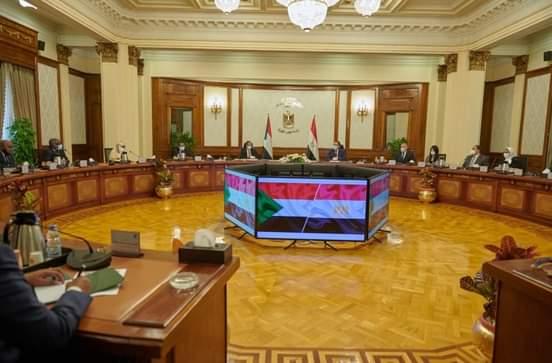 """""""السودان نيوز"""" تنشر نص البيان الصحفي المشترك بمناسبة زيارة رئيس الوزراء د. حمدوك الى القاهرة"""