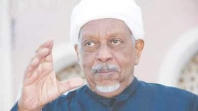 مولانا السيد محمد عثمان الميرغني رئيس الحزب الاتحادي الديمقراطي الأصل