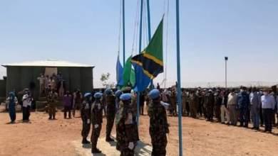 """القوات العسكرية المشتركة تسترد منهوبات مقر """"يوناميد"""" في منواشي بجنوب دارفور"""