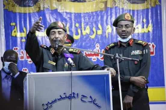 رئيس مجلس السيادة الانتقالي القائد العام للقوات المسلحة الفريق أول ركن عبد الفتاح البرهان