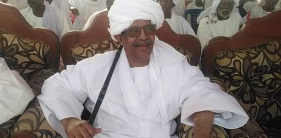 ناظر عموم قبائل الجعليين الناظر صلاح إبراهيم حاج محمد ود البيه