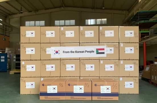وصول المساعدات الكورية لتعزيز قدرة السودان في فحص كوفيد-19