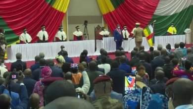 ابراهيم جابر يشارك في تنصيب رئيس جمهورية إفريقيا الوسطى
