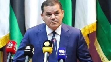 رئيس حكومة الوحدة الوطنية في ليبيا عبد الحميد دبيبة