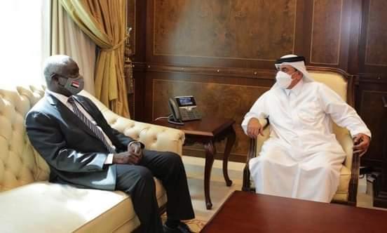 جبريل يجري محادثات مع وزيري المالية والمواصلات القطريين
