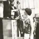 1980-81. Maristas El salvador infantil  Iñigo Laria Barrena