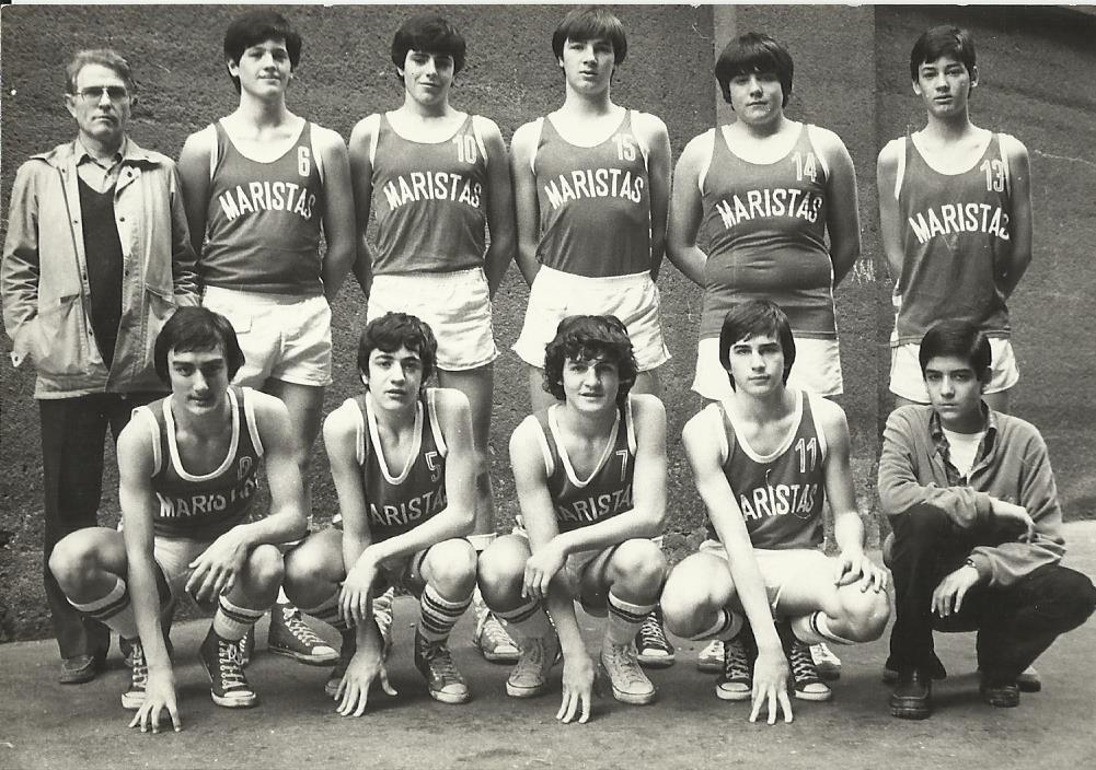 1981-82. Maristas infantil 81-82 campeón liga, Sector y España y campeón