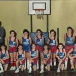 1988-89. El Salvador premini campeón trofeo Gorordo