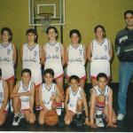 1994-95. Maristas Minibasket campeón liga