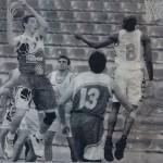 19960415 Correo EBA jugador LARSON. RUSSELL ELLIS