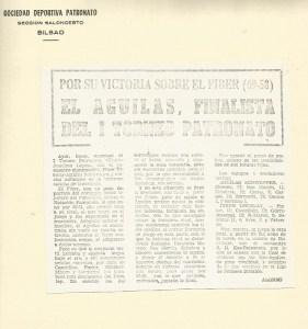 19701006 Gaceta I Torneo Patronato