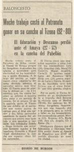 19761026 Diario de Burgos
