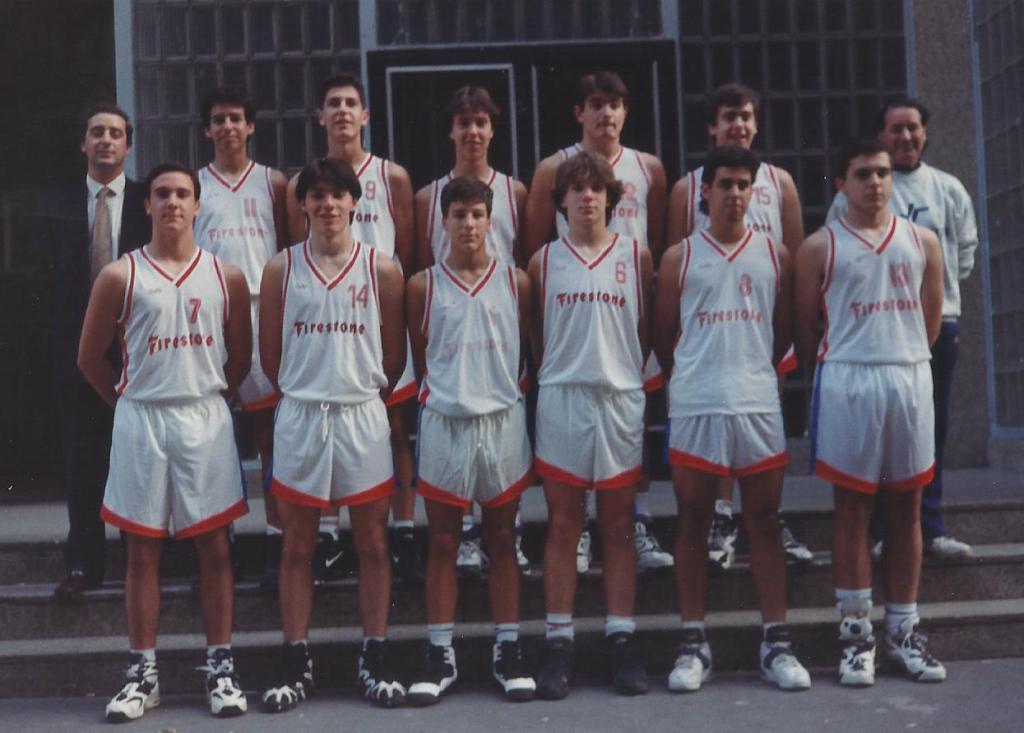94-95 Patro Maristas cadete campeón liga vasca ( siendo de 1º año)