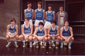 1981-82 PATRONATO Maristas juvenil. Ituiño