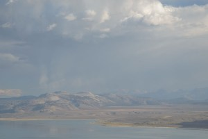 AS SHOT: Downpour over Crater Mountain