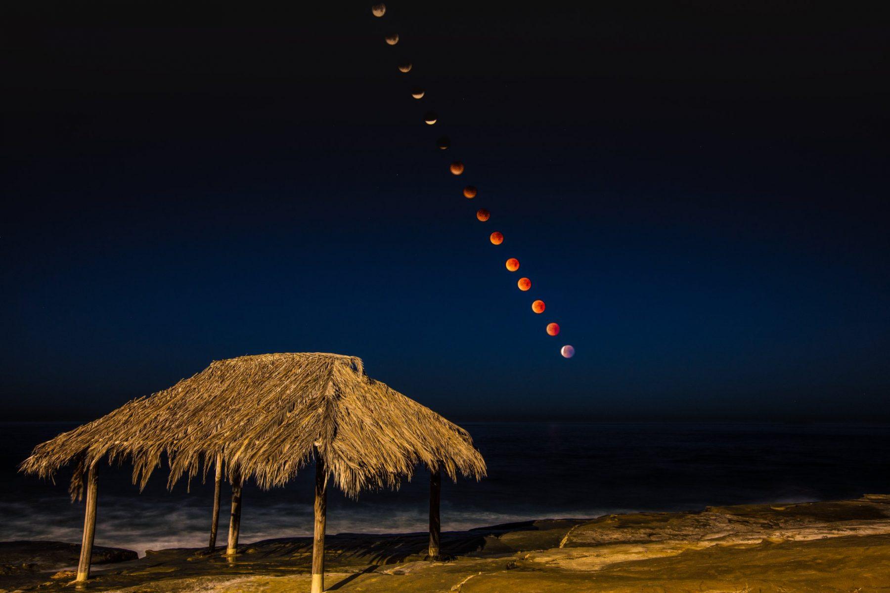 1st - Mark Ochenduszko - Windansea Lunar Eclipse