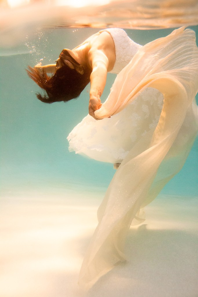 Underwater Portrait Photography (C) Erika Thornes