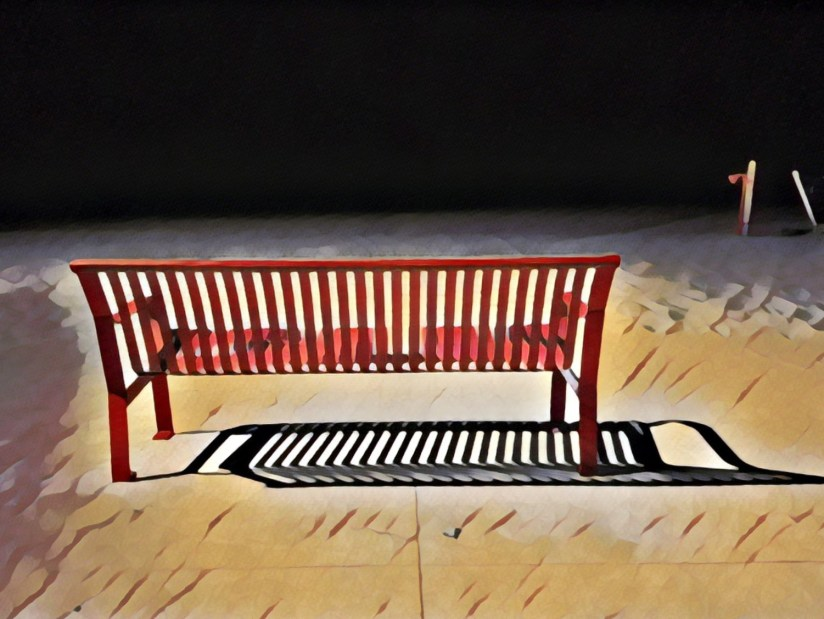 Jim McGinn - Park Bench