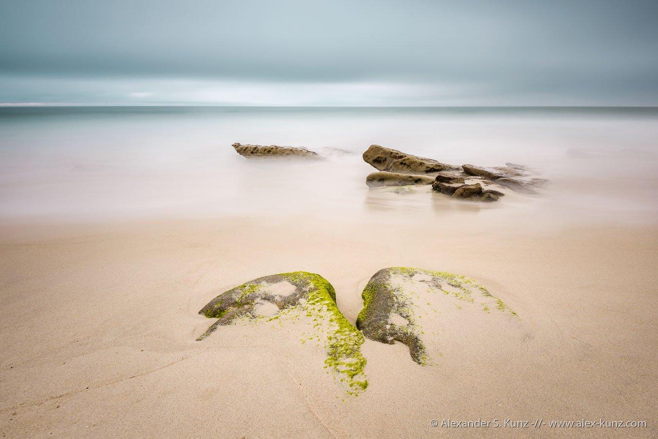 Windansea Beach, La Jolla, long exposure