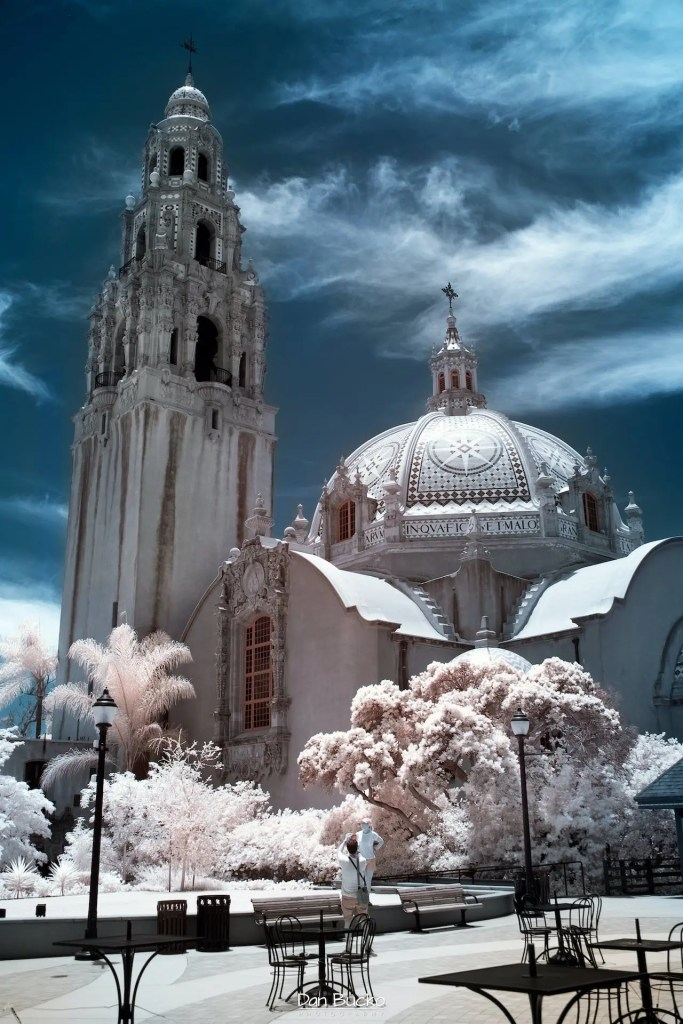 Daniel Bucko - Balboa Park Infrared Visitors