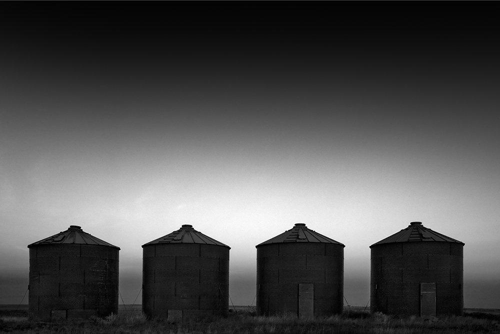 Cole Thompson -- Four Silos, 2007