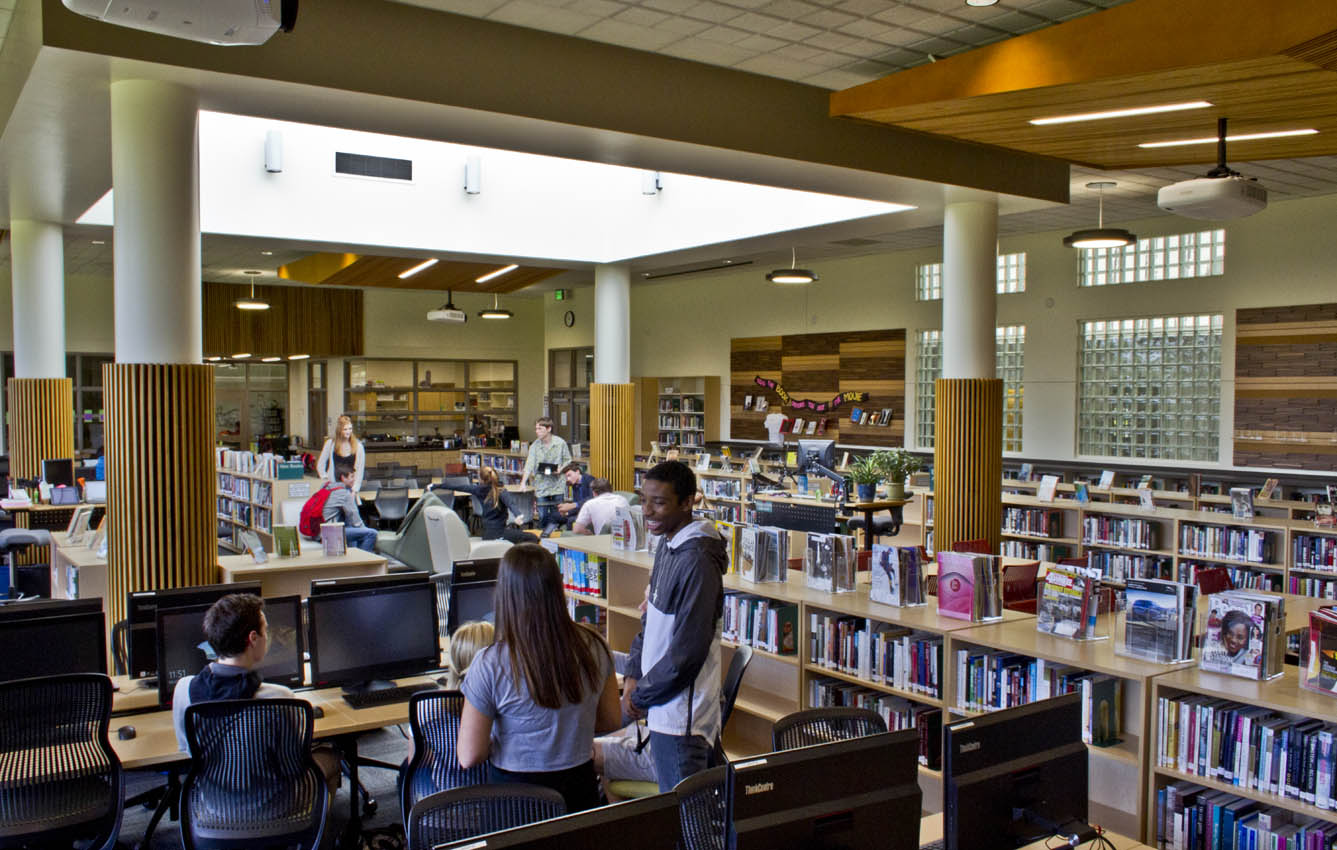 Jesuit High School Library