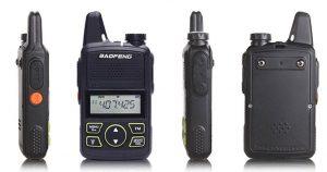 BF-T1 MINI Walkie Talkie UHF 400-470mhz 2